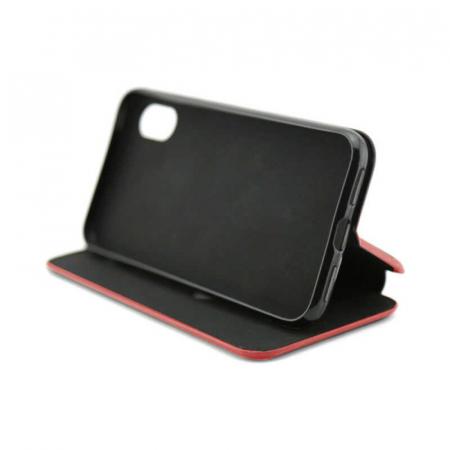 Husa Samsung Galaxy S20 2020 Flip Cover Tip Carte Magnetica Rosu OEM 1
