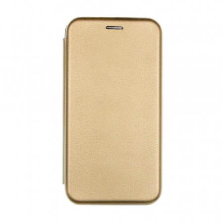 Husa Samsung Galaxy S20 FE Auriu Gold Tip Carte Flip Cover din Piele Ecologica Portofel cu Inchidere Magnetica0