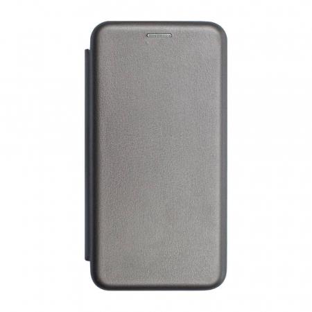 Husa Samsung Galaxy S20 FE Gri Tip Carte Flip Cover din Piele Ecologica Portofel cu Inchidere Magnetica0