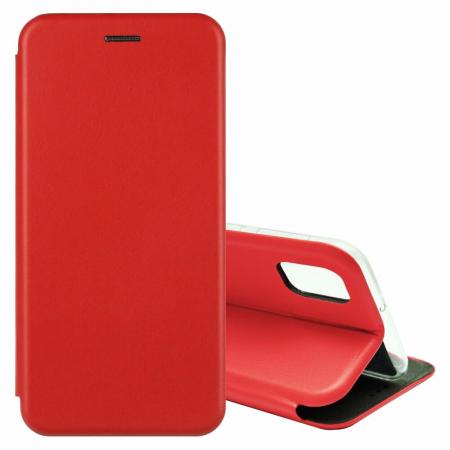Husa Samsung Galaxy S20 FE Rosu Tip Carte Flip Cover din Piele Ecologica Portofel cu Inchidere Magnetica1
