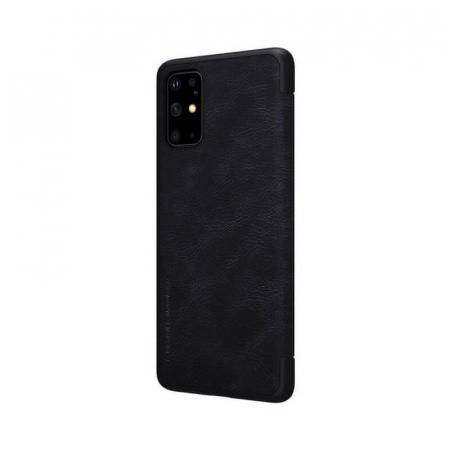 Husa Flip Samsung Galaxy S20 Plus Negru Tip Carte Magnetica Nillkin Qin3