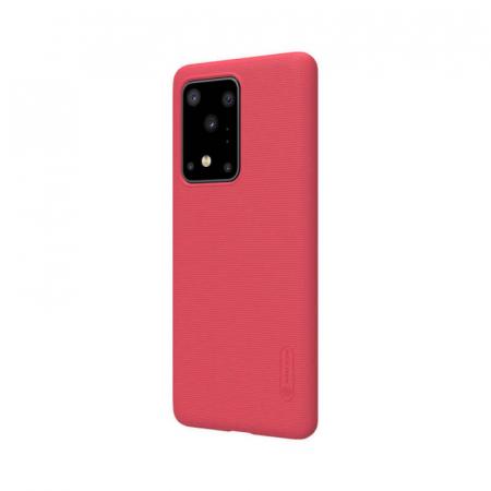 Husa Samsung Galaxy S20 Ultra Rosu Nillkin Frosted2