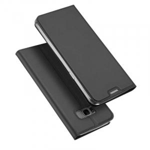 Husa Flip Samsung Galaxy S8 Tip Carte Negru Skin DuxDucis0