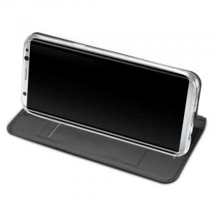 Husa Flip Samsung Galaxy S8 Tip Carte Negru Skin DuxDucis2