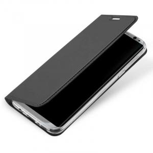Husa Flip Samsung Galaxy S8 Tip Carte Negru Skin DuxDucis4