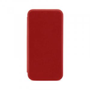 Husa Samsung Galaxy S8 Tip Carte Flip Cover din Piele Ecologica Rosu Portofel cu Inchidere Magnetica ( Red )3