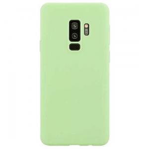 Husa Samsung Galaxy S9 2018 Verde Silicon Slim protectie Premium Carcasa0