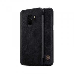 Husa Flip Samsung Galaxy S9 Negru Tip Carte Magnetica Nillkin Qin1