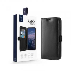 Husa Samsung Galaxy S9 2018 Toc Flip Tip Carte Portofel Piele Eco Premium DuxDucis Kado Negru [7]