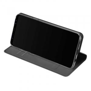 Husa Flip Samsung Galaxy S9 Tip Carte Negru Skin DuxDucis2