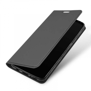 Husa Flip Samsung Galaxy S9 Tip Carte Negru Skin DuxDucis3