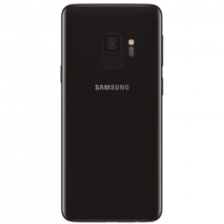 Husa Samsung Galaxy S9 Flip Oglinda Negru Tip Carte Clear View [4]