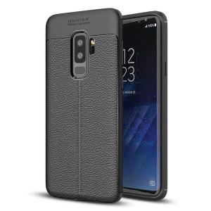Husa Samsung Galaxy S9 Plus Silicon TPU Colorat Negru-Autofocus Black