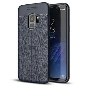 Husa Samsung Galaxy S9 Silicon TPU Colorat Negru-Autofocus Black0