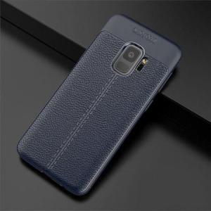 Husa Samsung Galaxy S9 Silicon TPU Colorat Negru-Autofocus Black1