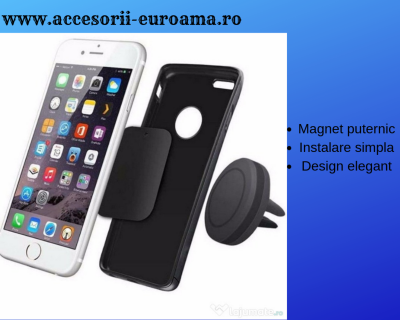 Suport Auto Telefoane Magnetic Universal Dreptunghiular0