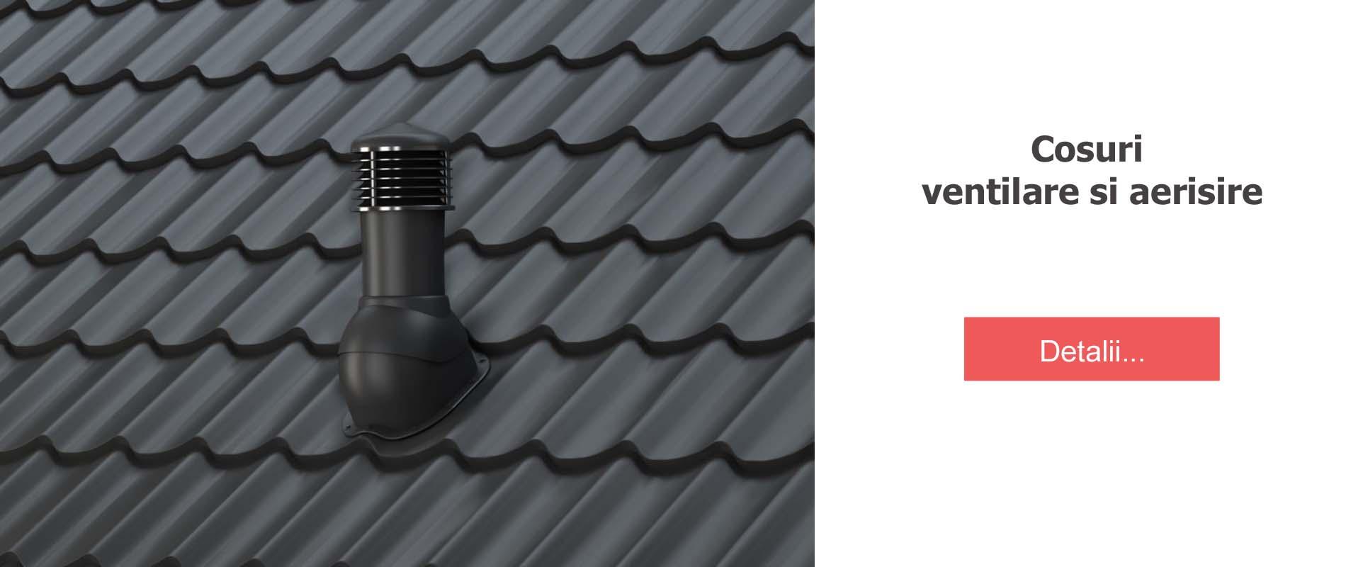 Cosuri ventilare/aerisire
