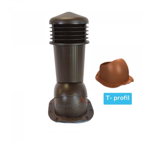 Cos ventilare tigla metalica T 0