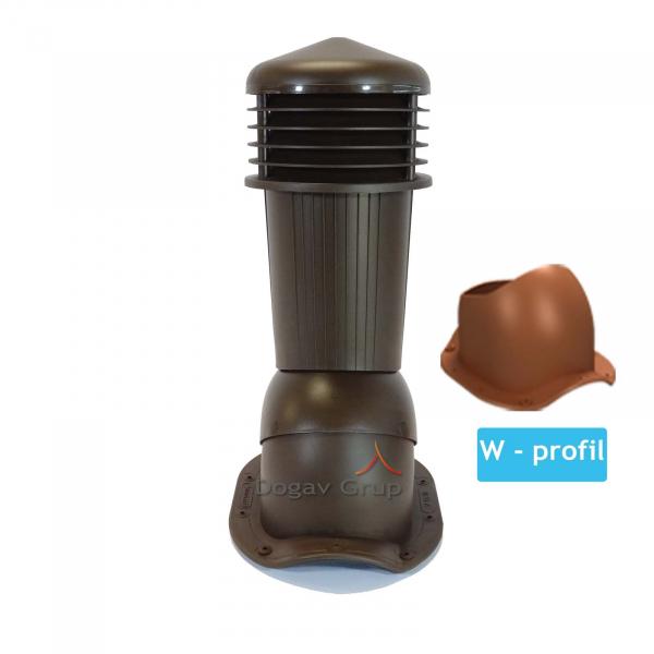 Cos ventilare tigla metalica W 0