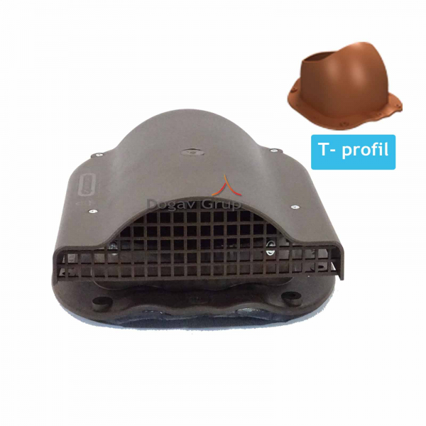 Element ventilare - tigla metalica T 0