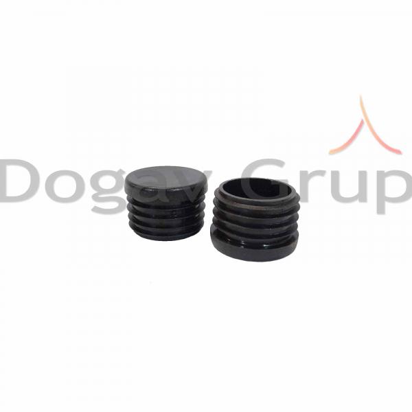 Parazapada cilindrica 2m - tigla ceramica / beton 8