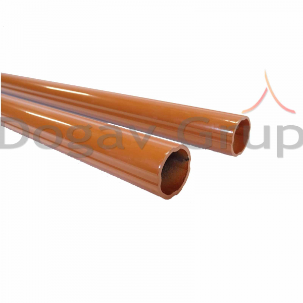 Parazapada cilindrica 2m - tigla metalica 6