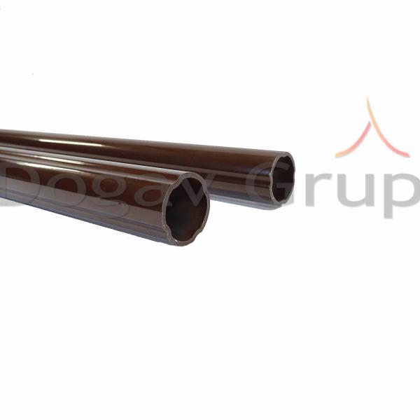Parazapada cilindrica 2m - tigla metalica 5