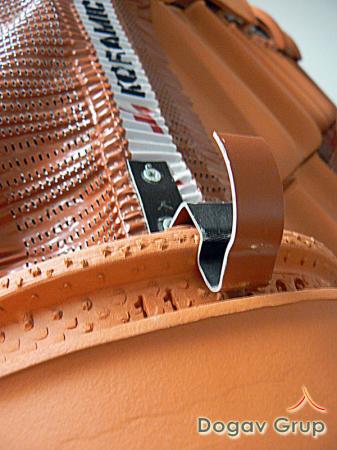 Clema fixare tigla coama presata - ceramica1