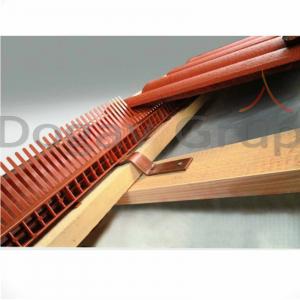 Element protecţie si ventilare streaşină, cu pieptan2