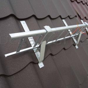 Parazăpadă grilaj 3m, Zincat pentru țiglă metalică4