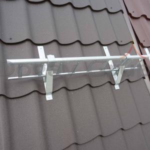 Parazăpadă grilaj 3m, Zincat pentru țiglă metalică2