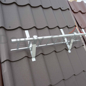 Parazăpadă grilaj 3m, Zincat pentru țiglă metalică6