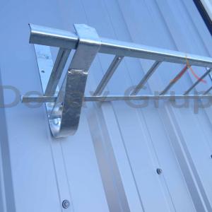 Parazapada grilaj 3m Zincat pentru tabla cutata/sandwich panel4