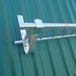 Parazapada grilaj 3m Zincat pentru tabla cutata/sandwich panel5