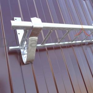 Parazapada grilaj 3m Zincat pentru tabla cutata/sandwich panel6