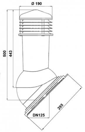 Cos ventilare tigla metalica [2]