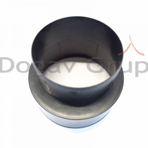 Reductie 125/110 mm pentru racord flexibil2