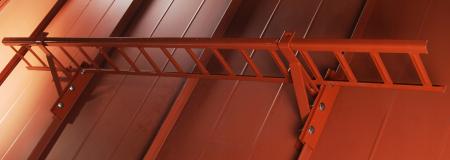 Parazapada grilaj 2 m - tabla faltuita [6]