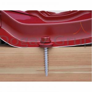 Surub pentru tigla metalica, autoforant, cu saiba 4,8 x 35 mm, cutie 250 bucati2