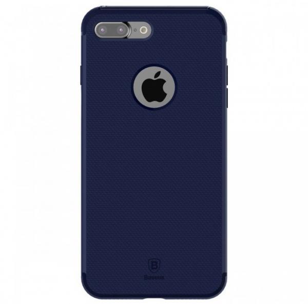 Capac de protectie Baseus Hidden Bracket pentru iPhone 7, Albastru 0