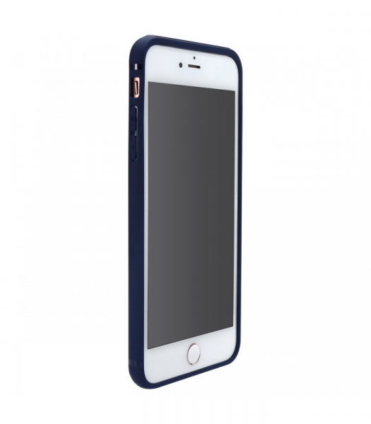 Capac de protectie Baseus Hidden Bracket pentru iPhone 8, Albastru 3
