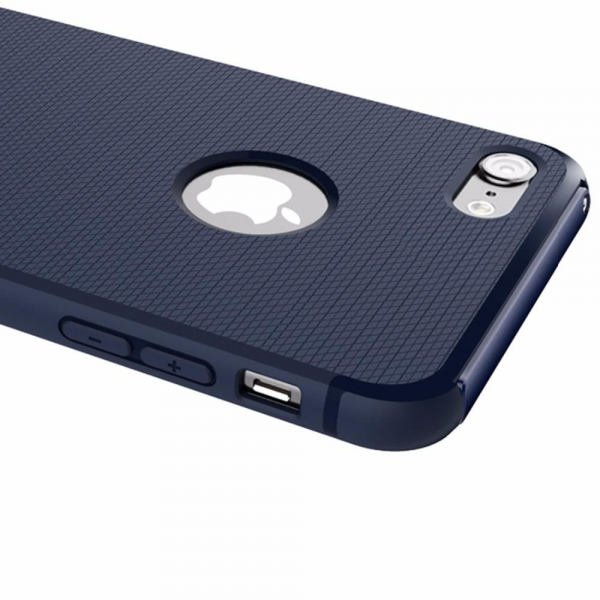 Capac de protectie Baseus Hidden Bracket pentru iPhone 8, Albastru 4