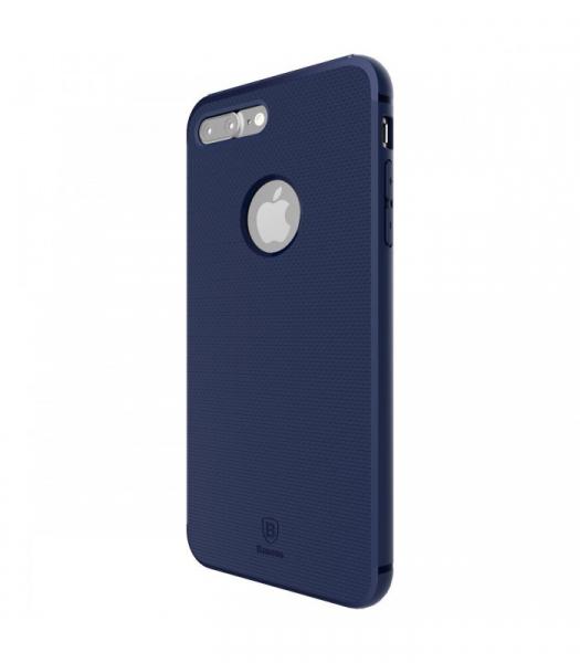 Capac de protectie Baseus Hidden Bracket pentru iPhone 8, Albastru 1