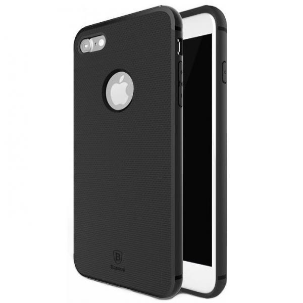 Capac de protectie Baseus Hidden Bracket pentru iPhone 8, Negru 1