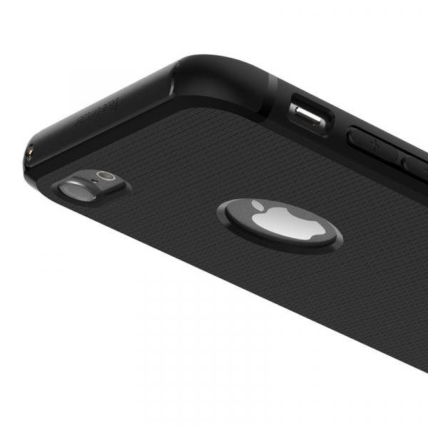 Capac de protectie Baseus Hidden Bracket pentru iPhone 8, Negru 4