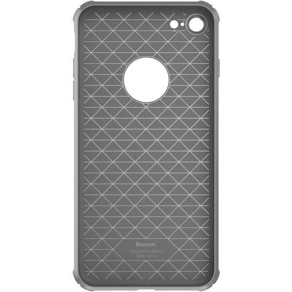 Capac de protectie Baseus Shield Case pentru iPhone 7, Gri 1