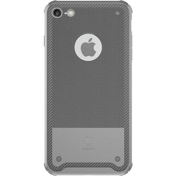 Capac de protectie Baseus Shield Case pentru iPhone 8, Gri 0