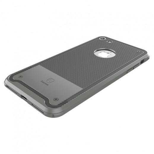 Capac de protectie Baseus Shield Case pentru iPhone 8, Gri 3