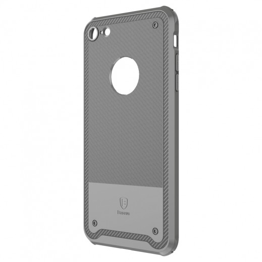 Capac de protectie Baseus Shield Case pentru iPhone 8, Gri 2