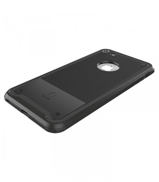 Capac de protectie Baseus Shield Case pentru iPhone 8, Negru 2